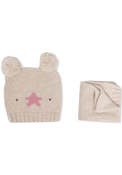 la tupenderia cappello e sciarpa con stella LA STUPENDERIA | Completo | CP02C506