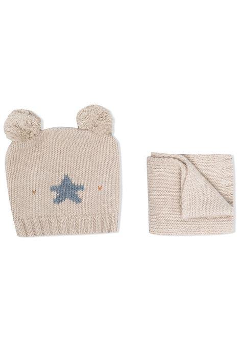 la tupenderia cappello e sciarpa con stella LA STUPENDERIA | Completo | CP02C514