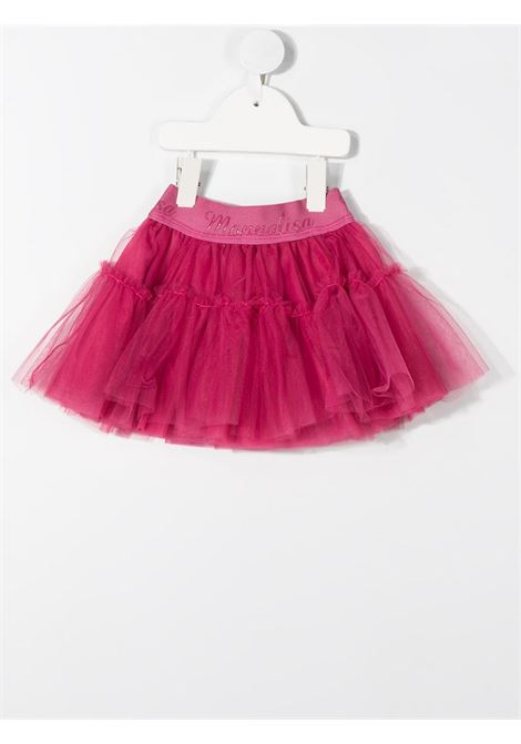 gonna in tulle con elastico logato MONNALISA BEBE | Gonna | 376GON69450094