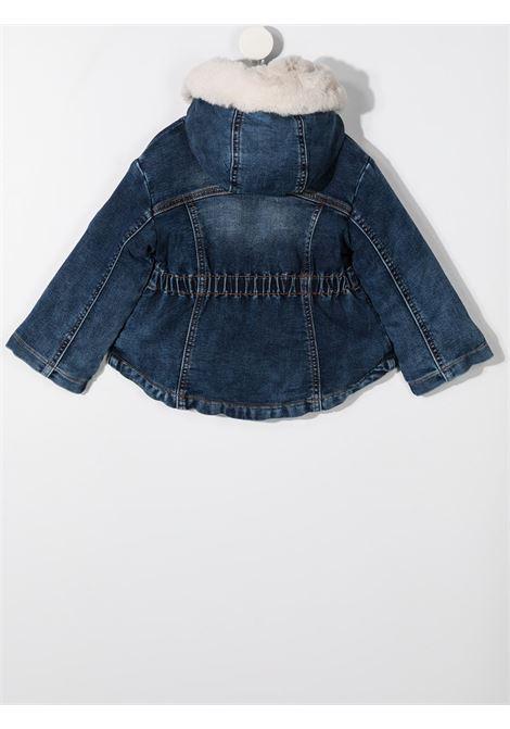 jeans ricamato MONNALISA BEBE | Parka | 396107RC60160055