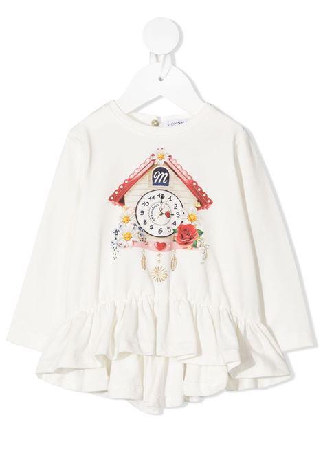 lunga stampa casetta jersey MONNALISA BEBE | T shirt | 396616SY60000001