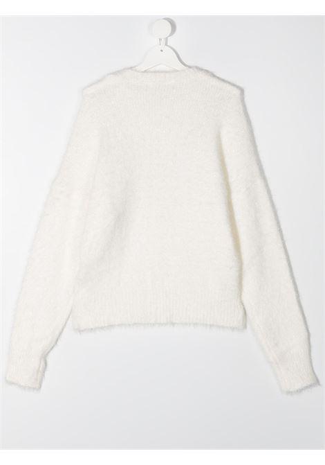 fiocco strass lurex MONNALISA CHIC | Pull | 796605RH67690150T