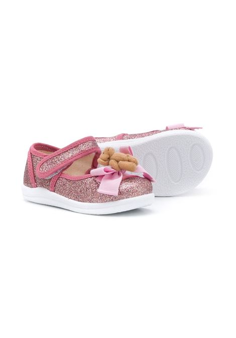 microglitter con orsetto MONNALISA Calzature | Ballerina | 8360106717G084