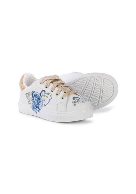sneakers stampa paris con rose MONNALISA Calzature | Sneakers | 8C601067060156
