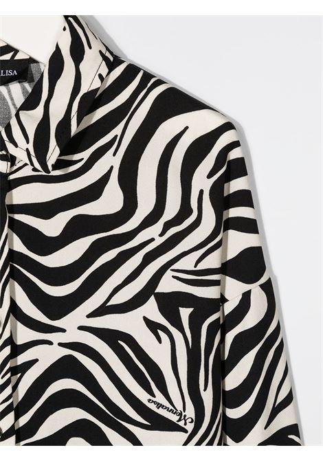 lunga twill zebrato MONNALISA jakioo | Camicia | 41630166290250
