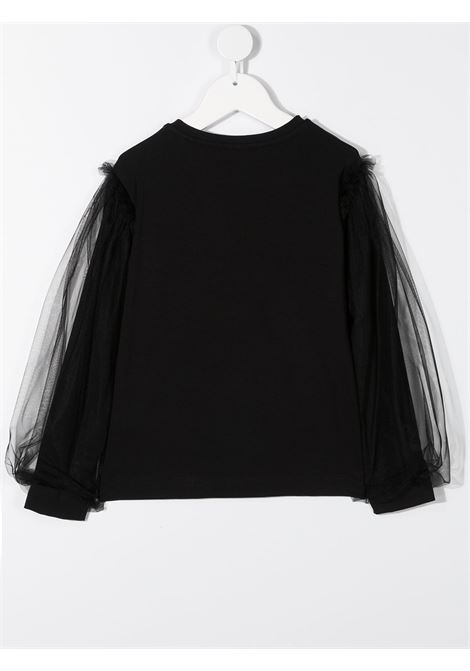 manica in tulle MONNALISA jakioo | T shirt | 416613AU62010050