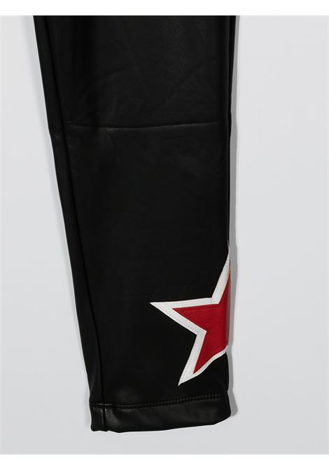 ecopelle con stella MONNALISA jakioo | Leggins | 496406RO67580050
