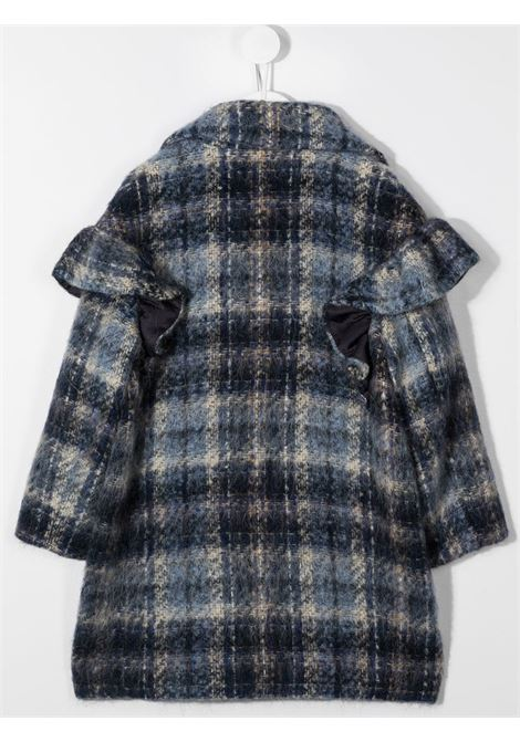 cappotto con voile in check MONNALISA | Cappotto | 11611065020056