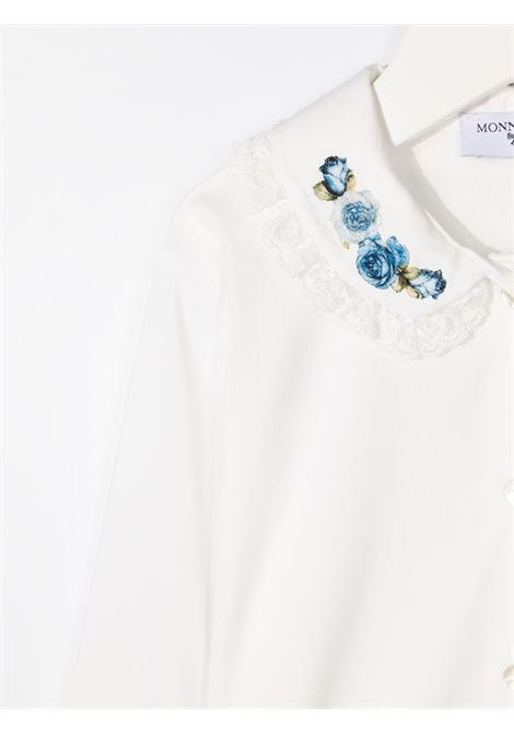 colletto con rose popeline stretch MONNALISA   Camicia   116300A661140156