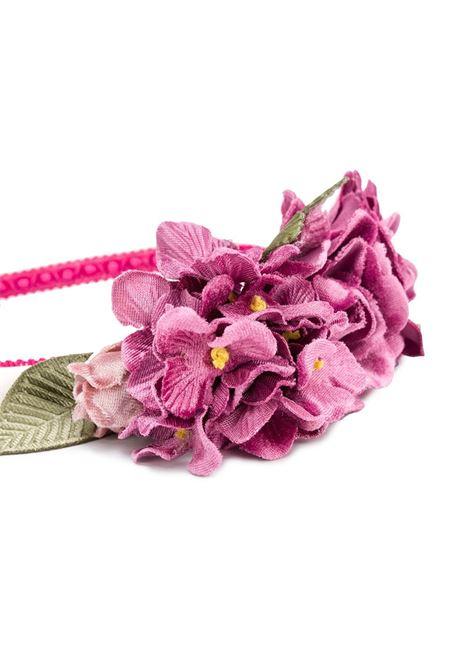 cerchietto Monnalisa con applicazioni fiori MONNALISA | Cerchietto | 19600766520294