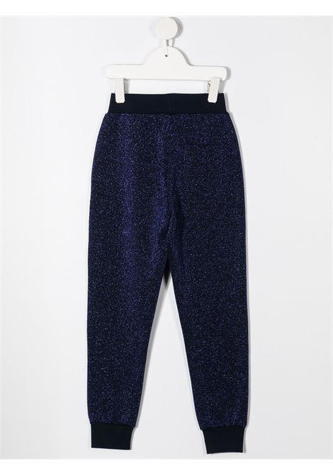 pantaloni in felpa con patch MONNALISA | Pantalone | 196417AH60020056