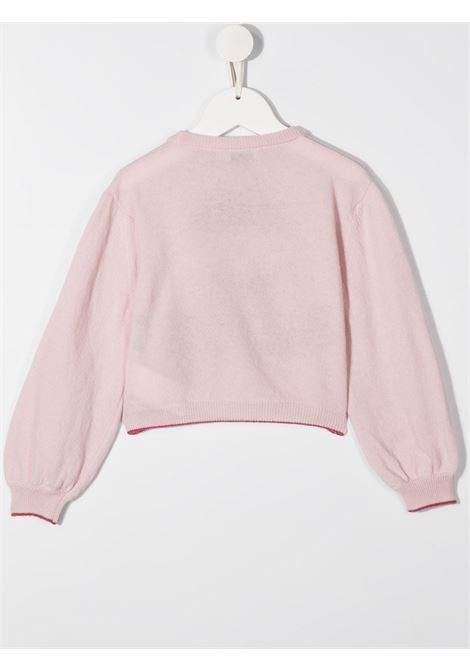 pullover con ricamo dog-rose MONNALISA | Maglia | 19660760279294