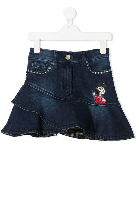 jeans+strass denim MONNALISA | Gonna | 196702RA60150057