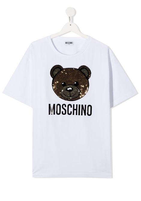 MOSCHINO KIDS | T-shirt | H5M029LBA1210101T