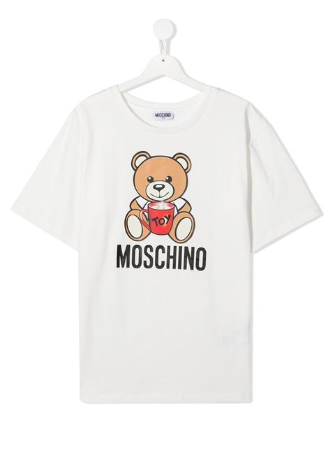 MOSCHINO KIDS | T shirt | H6M029LBA1110063T