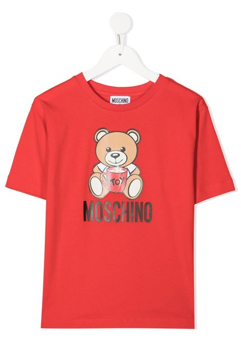 MOSCHINO KIDS | T-shirt | H6M029LBA1150109