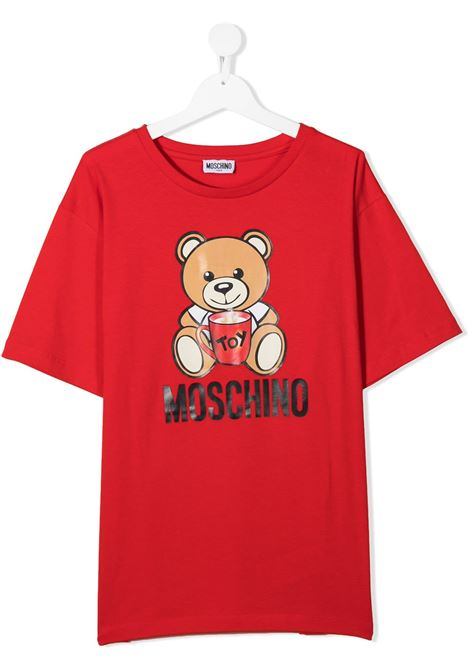 MOSCHINO KIDS | T shirt | H6M029LBA1150109T