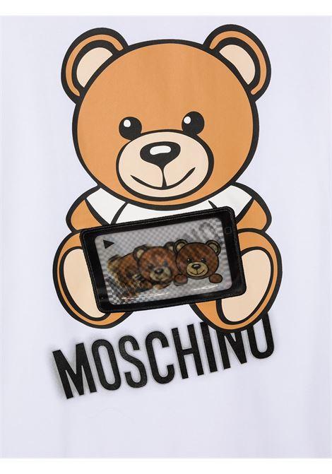 MOSCHINO KIDS | T-shirt | H7M029LBA1210101T