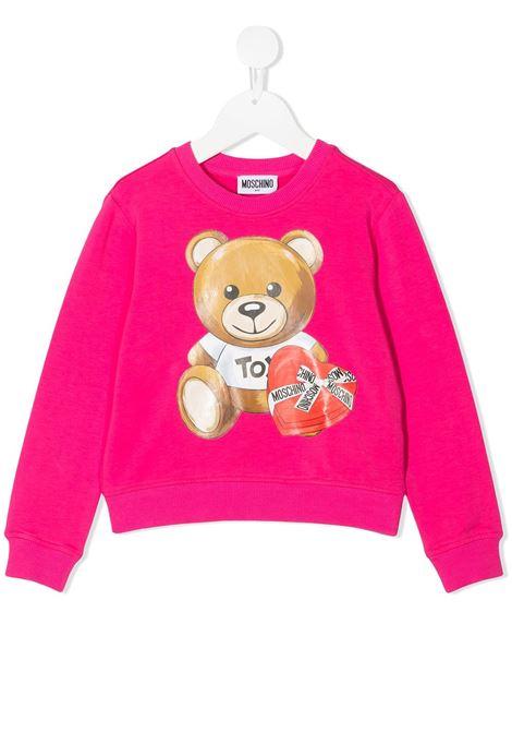 MOSCHINO KIDS | Sweatshirt | HDF02MLDA1650569