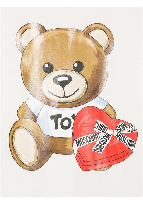 tshirt Moschino con orsetto cuore MOSCHINO KIDS   T shirt   HEM02TLBA1110063
