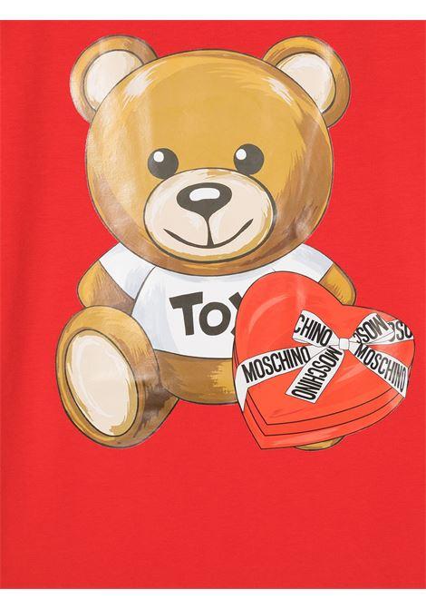 MOSCHINO KIDS | T-shirt | HEM02TLBA1150109T