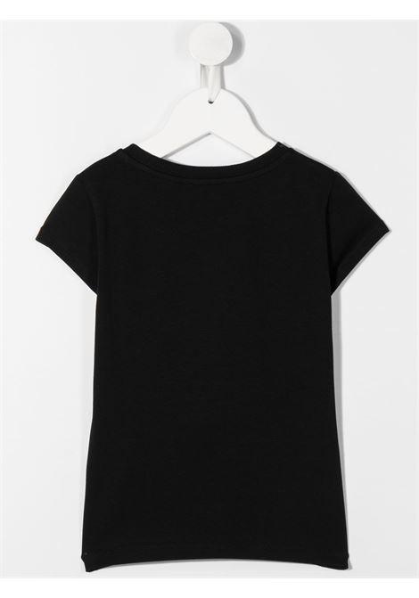 tshirt moschino con orsetto e scritta logo oro MOSCHINO KIDS   T shirt   HIM02OLBA1160100
