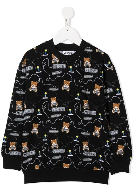 MOSCHINO KIDS | Sweatshirt | HNF02ZLDB4384449