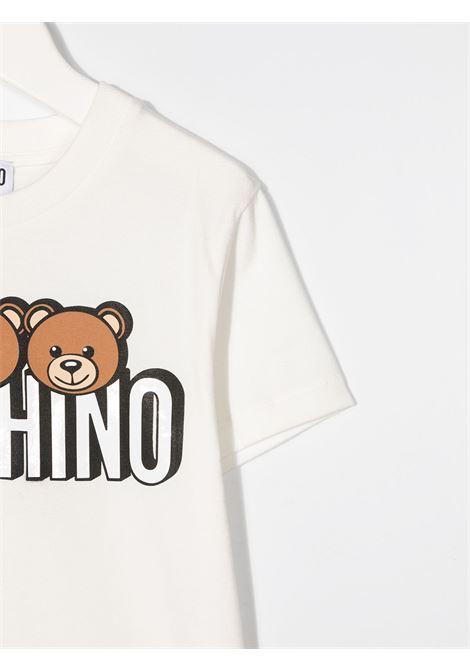 tshirt Moschino con orsetti e scritta logo MOSCHINO KIDS | T shirt | HOM02SLBA2410063T