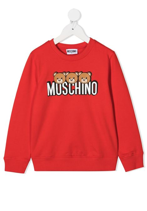 MOSCHINO KIDS   Sweatshirt   HSF039LDA2650109