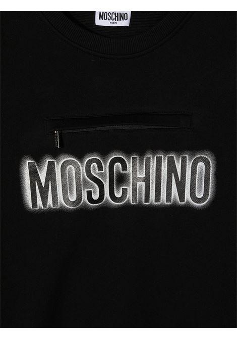 MOSCHINO KIDS | Sweatshirt | HUF041LCA2060100T