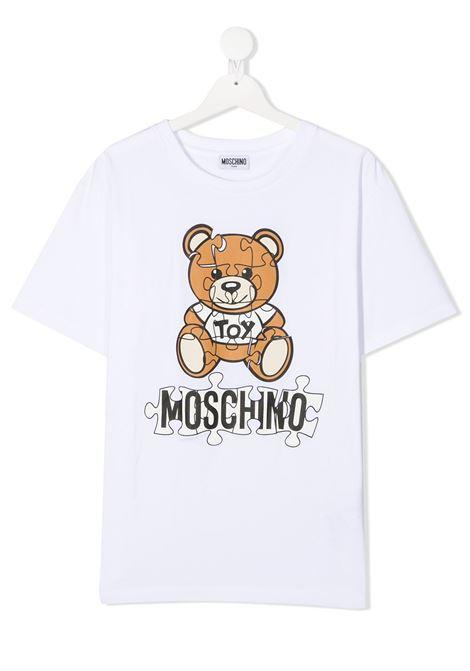 MOSCHINO KIDS | T shirt | HUM02XLBA1110101T