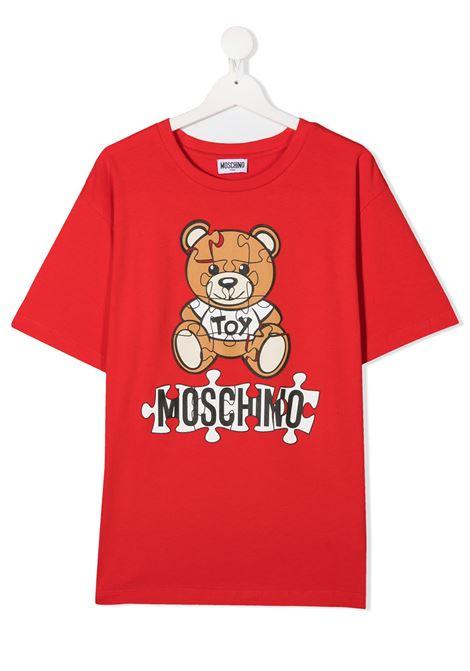 MOSCHINO KIDS | T shirt | HUM02XLBA1150109T