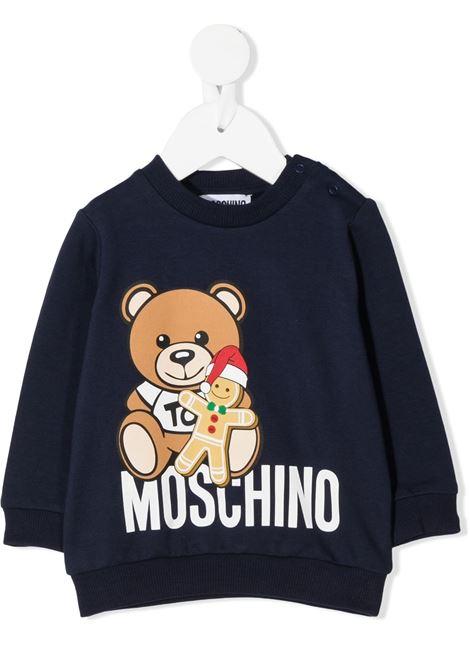 MOSCHINO KIDS | Felpa | MMF03ELDA2240016