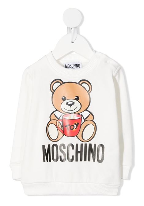MOSCHINO KIDS | Felpa | MQF03ELDA1410063