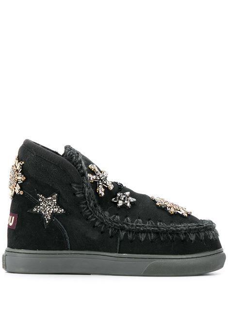 eskimo sneaker star patches MOU | Scarpe | FW111005ABKBK