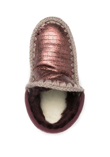eskimo sneaker big metal logo MOU | Scarpe | FW111008BLCWIN