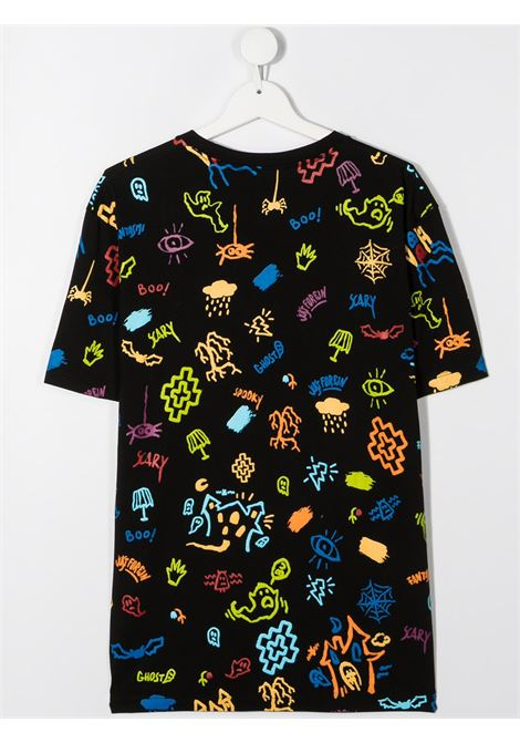 tshirt Marcelo Burlon stampa all over sketch Marcelo burlon | T shirt | MB11070010B010T