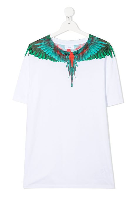 tshirt Marcelo Burlon con green wings Marcelo burlon | T shirt | MB11080010B000T