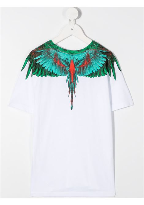 tshirt Marcelo Burlon con green wings Marcelo burlon | T shirt | MB11080010B000
