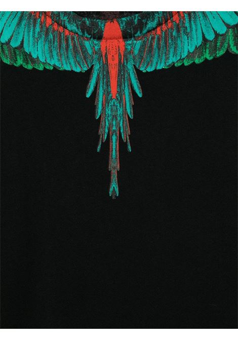 tshirt Marcelo Burlon con green wings Marcelo burlon   T shirt   MB11080010B010T