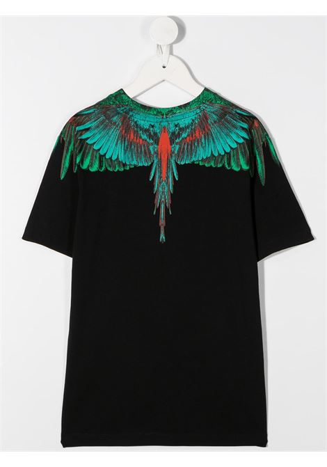 tshirt Marcelo Burlon con green wings Marcelo burlon | T shirt | MB11080010B010