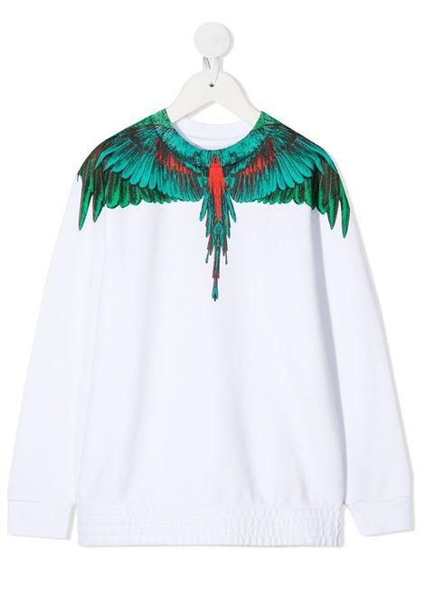 felpa Marcelo Burlon Green Wings Marcelo burlon | Felpa | MB20040020B000