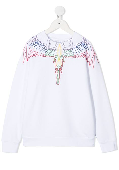 felpa Marcelo Burlon Outlinee Wings Marcelo burlon | Felpa | MB20060020B000