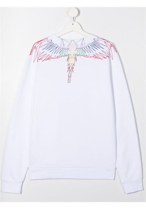 felpa Marcelo Burlon Outlinee Wings Marcelo burlon | Felpa | MB20060020B000T
