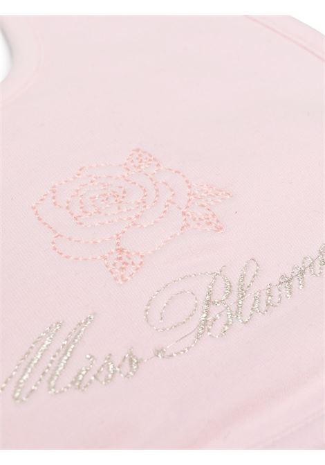 bavetta  miss blumarine con logo in  strass Miss Blumarine | Bavetta | MBL2818RO