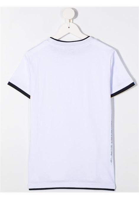 tshirt con doppio colore Paolo pecora | T shirt | PP2433BI/BL