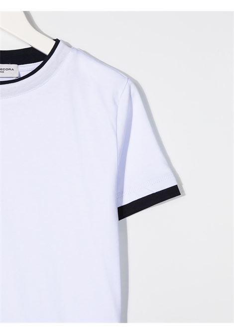 Paolo pecora | T-shirt | PP2433BI/BL