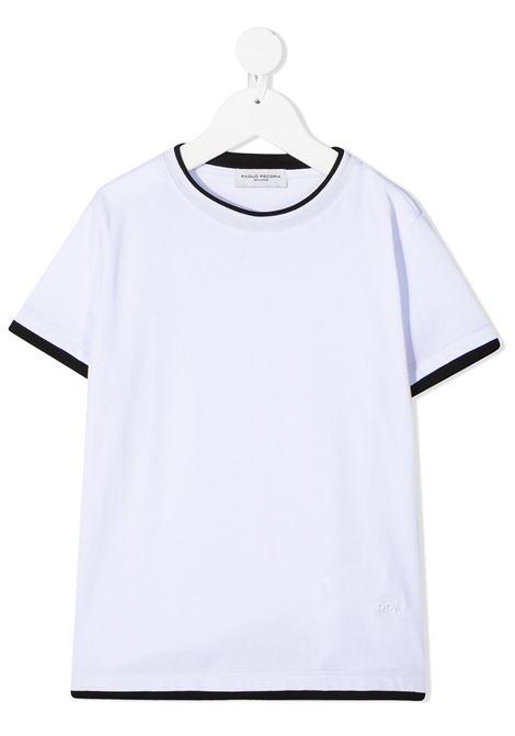 Paolo pecora | T shirt | PP2433BI/NE