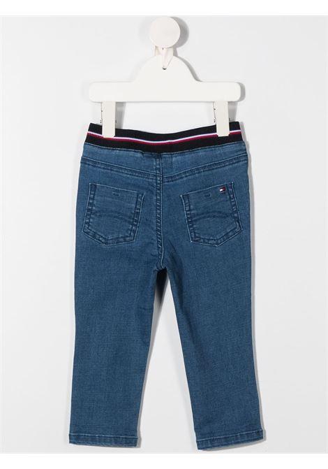 denim stretch tommy hilfiger logato TOMMY HILFIGER | Jeans | KN0KN012051A4