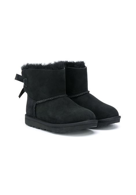 mini bailey bow UGG AUSTRALIA KIDS | Boots | UG1017397KBLK